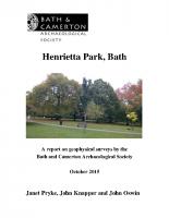 HenriettaParkReportStd