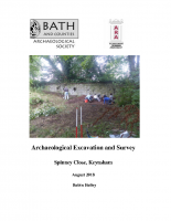 Archaeological Excavation and Survey, Spinney Close, Keynsham