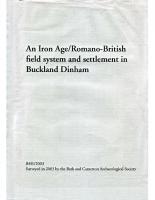 Buckland Dinham field system