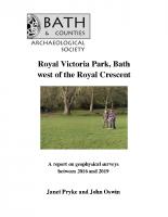 Royal Victoria Park 2020