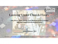 Looking under church floors